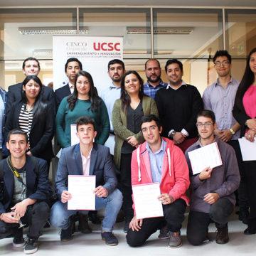 Proyectos estudiantiles compitieron en concurso de emprendimiento