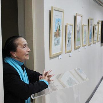 """Exposición """"Arte, espacio de encuentro UCSC 2017"""" se inauguró en la Facultad de Derecho"""