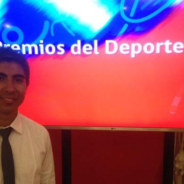 """Marchista del IT UCSC fue distinguido en """"Premios del Deporte 2017"""""""