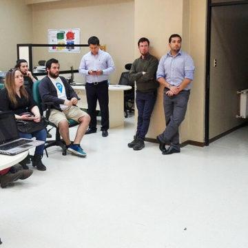 Estudiantes UCSC presentaron proyectos a experto en emprendimiento