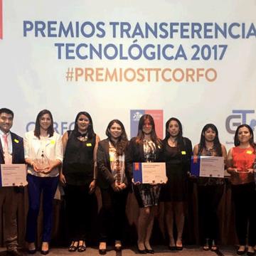 Oficina de Transferencia Tecnológica UCSC recibe premios otorgados por Corfo y RedGT