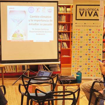 CIBAS compartirá ciencia con comunidad penquista en Biblioteca Viva