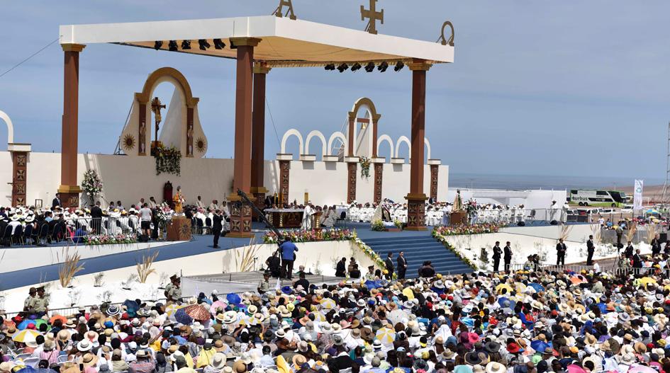 Santo Padre llama a reconocer aporte de los inmigrantes