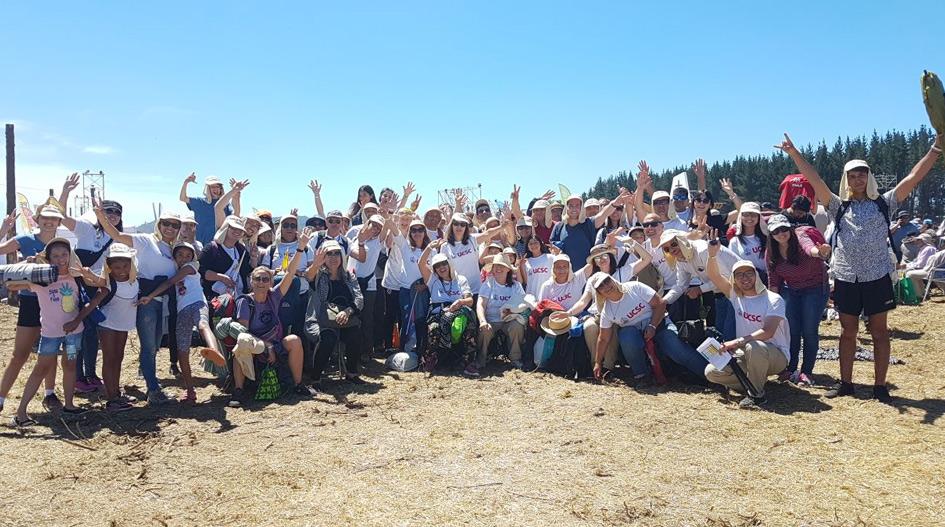 Jóvenes de la UCSC comparten experiencia de encuentro con Papa Francisco en Temuco