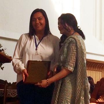 Académica de Ingeniería fue reconocida en Foro Económico Mundial de la Mujer
