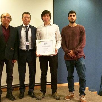 Académicos de Ingeniería son parte de equipo reconocido en torneo de innovación