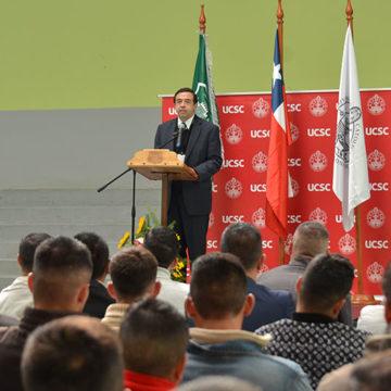 IT UCSC dio inicio a nueva versión de programa universitario en CCP Biobío