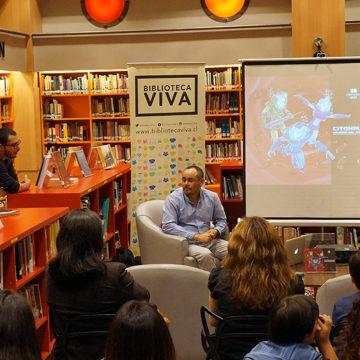 Biblioteca Viva recibió a los Citonautas de la UCSC