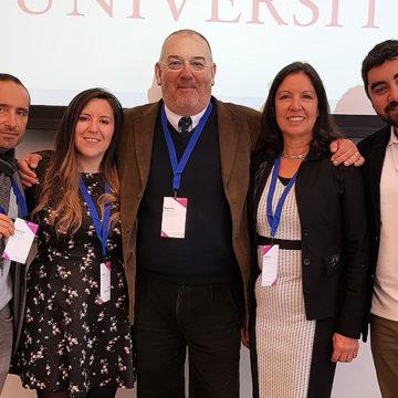 Académico y doctorandos representan a la UCSC en conferencia internacional