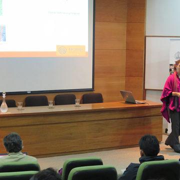 Facultad de Ingeniería se reunió en seminario de la Sociedad Chilena de Geotecnia