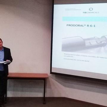 Presentan nuevas tecnologías para tuberías de gas en Sede Talcahuano de IT