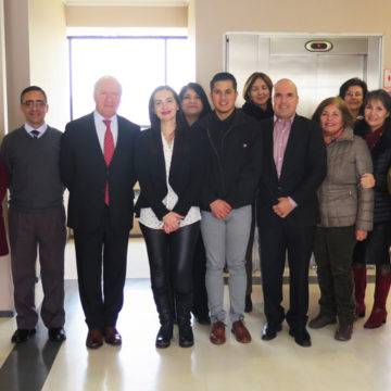 Estudiantes mexicanos culminan intercambio luego de un semestre en Enfermería