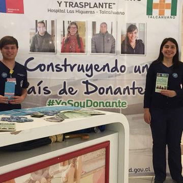 Carrera de Enfermería apoyó campaña que promueve la donación de órganos