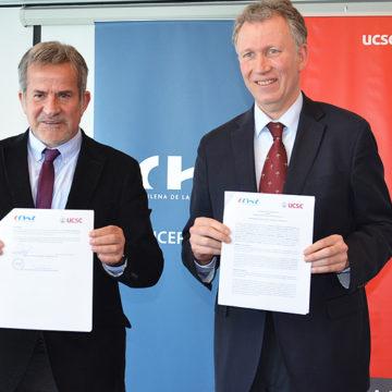 UCSC y CChC firman convenio a favor del desarrollo académico, científico y tecnológico