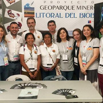 Geoparque Litoral Minero del Biobío estuvo presente en VIII Conferencia Internacional de Geoparques