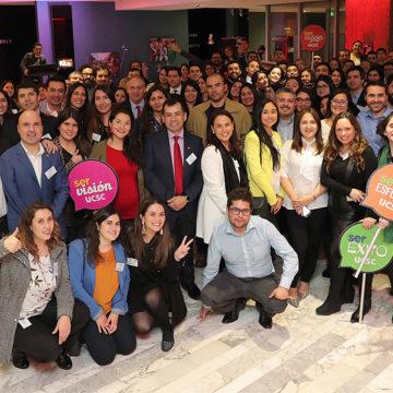 Más de 120 profesionales se dieron cita en el II Encuentro Alumni Santiago 2018