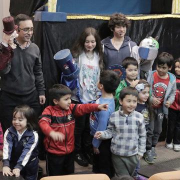 Función de títeres promovió el trasplante de órganos en escolares de Talcahuano
