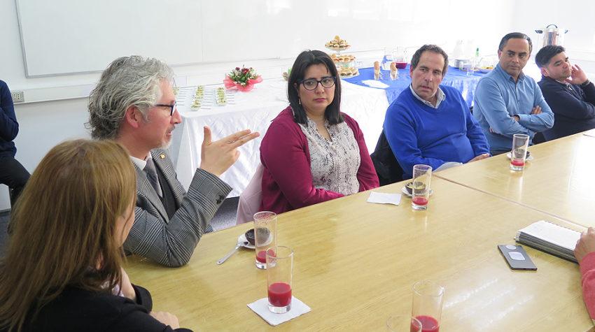 Reunión con empleadores de Ingeniería Civil permitió