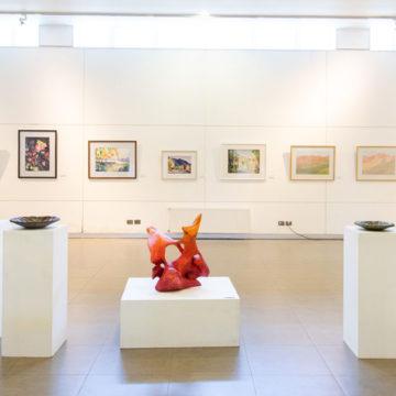 Otoño protagoniza exposición de pintores y escultores penquistas