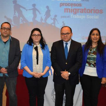 Desafíos de los procesos migratorios fueron abordados en seminario de Trabajo Social