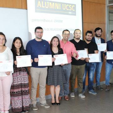 Alumni UCSC certifica curso online de empleabilidad