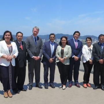 UCSC potencia cooperación con casa de estudios peruana