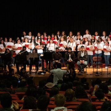 """Voces de tres facultades dan vida a """"UCSC Canta"""""""