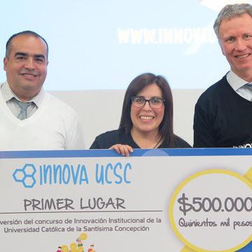 Primer concurso de Innovación UCSC coronó a las mejores ideas en ceremonia de premiación