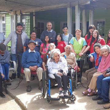 Trabajos de Verano de IT Sede Chillán entregaron ayuda en Quirihue