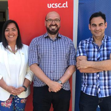 Expositores UCSC adelantaron Congreso Futuro en Concepción