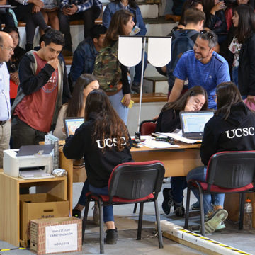 UCSC completa más del 60% de vacantes en primer día de matrículas