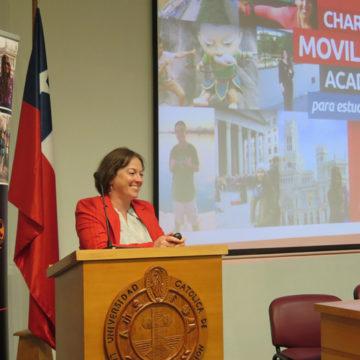 DRI inicia ciclo de charlas sobre movilidad académica