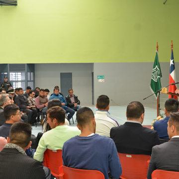 UCSC inauguró Año Académico en Centro de Cumplimiento Penitenciario Biobío