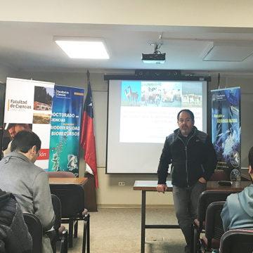 Facultad de Ciencias refuerza relación interuniversidades a través de charlas