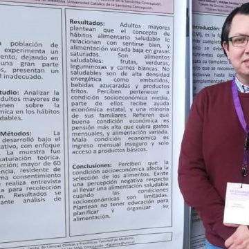 UCSC dijo presente en XVI congreso de nutricionistas universitarios de Chile