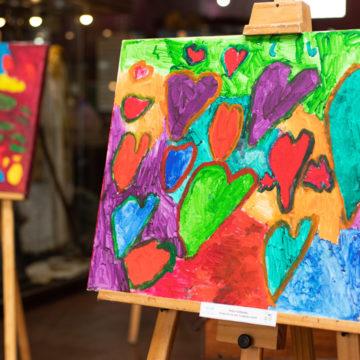 Muestra da a conocer mundo interior de artistas de Fundación Coanil