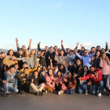 Jóvenes de cuatro continentes cursarán estudios en la UCSC