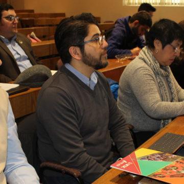 Delegados de admisión de universidades del sur del país se reunieron en la UCSC