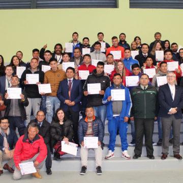 Con ceremonia de certificación finaliza programa de emprendimiento e innovación en CCP Biobío
