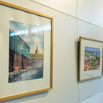 UCSC conmemora Día Mundial de la Acuarela con cuatro exposiciones simultáneas