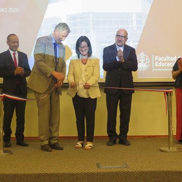 Facultad de Educación cuenta con nuevas salas y auditorio
