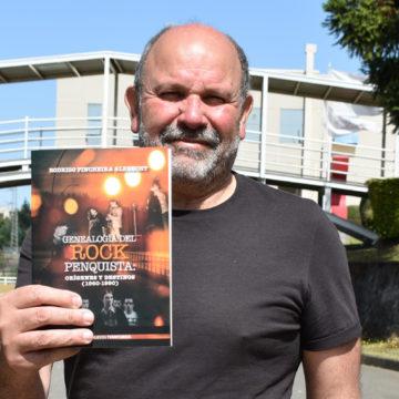 Rastro histórico del rock penquista se reúne por primera vez en libro de académico de la UCSC
