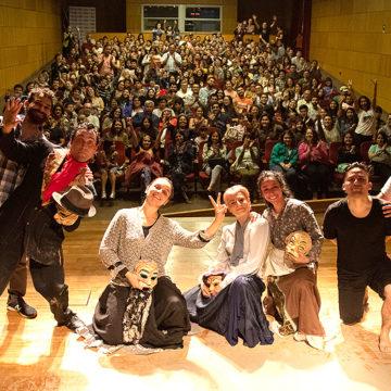 Amplia recepción tuvo Teatro en Verano en la UCSC