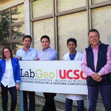 LabGeo UCSC logró acreditación para prestar asistencia técnica en área de la construcción