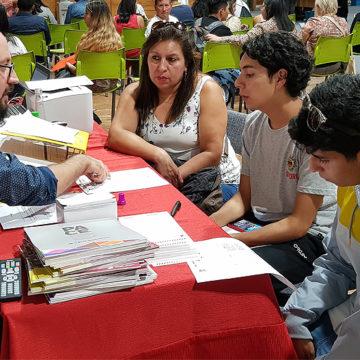 Unidad de Acompañamiento y Acceso recibe a alumnos PACE en Matrículas 2020
