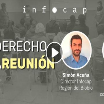 Vicerrectora de Vinculación con el Medio participó en programa de Fundación Infocap