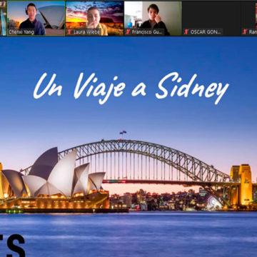 Alumnos del programa de español para extranjeros exponen sobre cultura de manera online