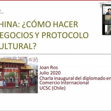 FACEA UCSC inaugura Diplomado en Comercio Internacional para la Región de Atacama