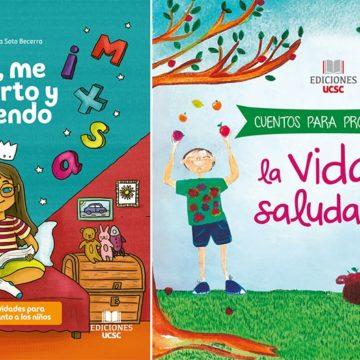 Ediciones UCSC presentará cuentos infantiles que enseñan de forma creativa
