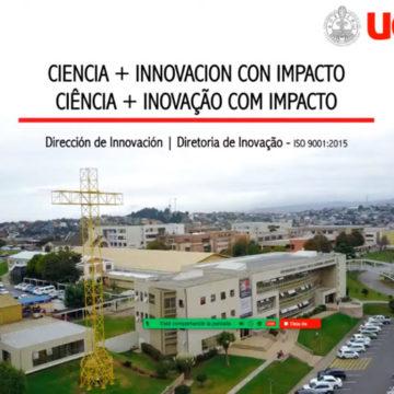Innovación e internacionalización: DINN UCSC expuso en webinar de Oducal